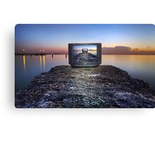 Morning Show Canvas Print