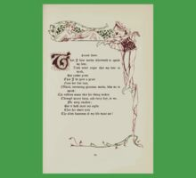 The Old Garden and Other Verses by Margaret Deland and Wade Campbell, Illustrated by Walter Crane 1894 165 - Second Lover Kids Tee