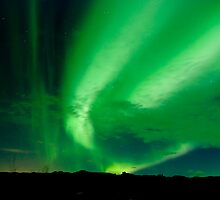 Aurora Borealis - Þingvellir #8 by Stefán Kristinsson