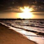 Sunset On The Bay by Jurgen  Schulz