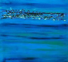 Ocean Blue by Leanne King