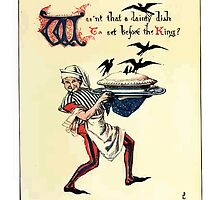 The Song Of Sixpence Pocket Book 1909 Walter Crane 20 - Wasn't That a Dainty Dish to Set Before the King by wetdryvac