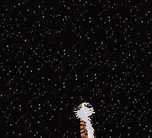Calvin & Hobbes by ginabelluni