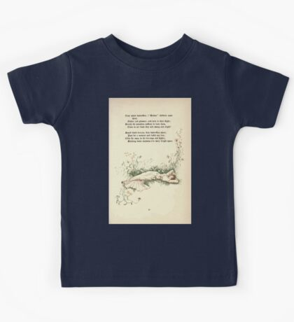 The Old Garden and Other Verses by Margaret Deland and Wade Campbell, Illustrated by Walter Crane 1894 117 - Tiny White Butterflies Kids Tee