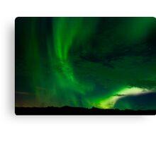 Aurora Borealis - Þingvellir #9 Canvas Print