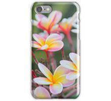 Hot Pink Plumeria tree iPhone Case/Skin