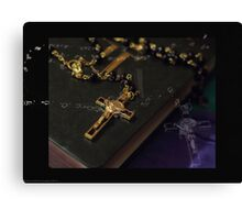 Holy-Canon 50mm Canvas Print