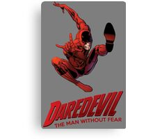 Daredevil The Man Without Fear Canvas Print