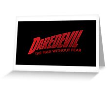 Daredevil Greeting Card