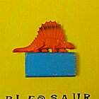 Pleased to meet you Mr.Pleosaur by debora bryan