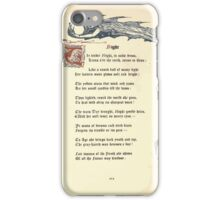 The Old Garden and Other Verses by Margaret Deland and Wade Campbell, Illustrated by Walter Crane 1894 249 - Night iPhone Case/Skin
