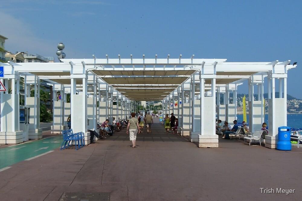 Promenade des Anglais, Nice by Trish Meyer