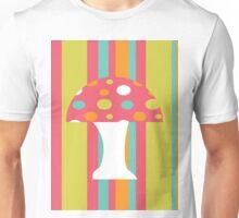 coloured Mushroom Unisex T-Shirt
