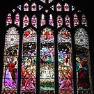 Nativity Stained Glass Window by AnnDixon