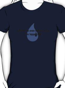 MTG Blue mana tap T-Shirt