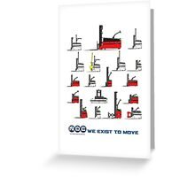 NDC AGV All Models Greeting Card