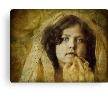 Monday's Child Is Fair Of Face Canvas Print