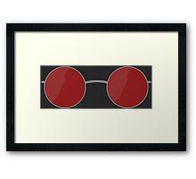 Matt Murdock Glasses Framed Print