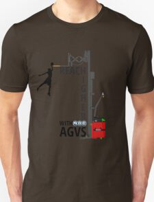 Reach Higher with NDC AGVs Unisex T-Shirt
