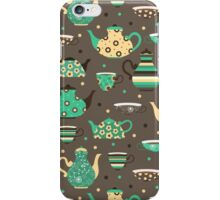 Tea pattern. iPhone Case/Skin