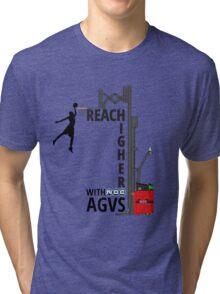 Reach Higher with NDC AGVs Colour Tri-blend T-Shirt