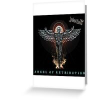judas priest_angel of retribution Greeting Card