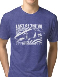 Mad Max Inspired Last of the V8 Shirt Tri-blend T-Shirt