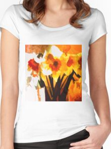 Spring has Sprung Women's Fitted Scoop T-Shirt
