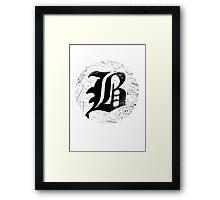 beartooth circle Framed Print