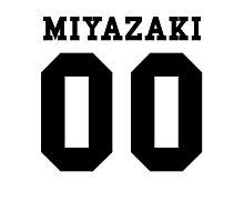 Miyazaki PYREX (black text) Photographic Print