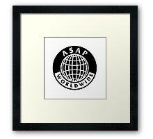 asap worldwide Framed Print