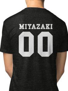 Miyazaki PYREX (white text) Tri-blend T-Shirt