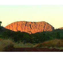 East Kimberleys Ayres Rock Photographic Print