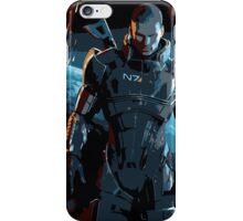 Commander Shepard Mass Effect 3 iPhone Case/Skin