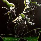 Midori Illusion (Green Fairies) by Midori Furze