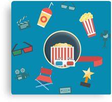 Cinema - Tutto intorno ai Film Canvas Print