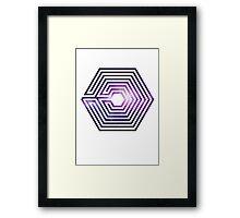 exo logo Framed Print