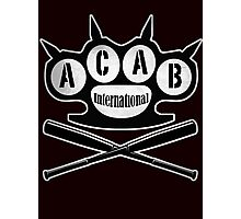 A.C.A.B Hooligans-Ultras Photographic Print