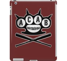 A.C.A.B Hooligans-Ultras iPad Case/Skin