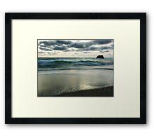 Sorrento back beach Framed Print