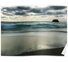 Sorrento back beach Poster