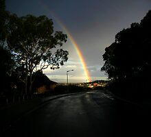 Hobart Rainbow by Anthony Davey