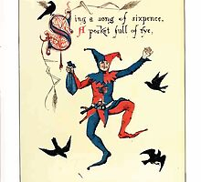 The Song Of Sixpence Pocket Book 1909 Walter Crane 14 - Sing A Song of Sixpence A Pocket Full of Rye by wetdryvac