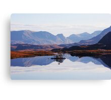 Mirror Mountains Canvas Print