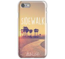 Sidewalk - Abuse iPhone Case/Skin