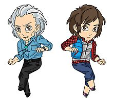 Junpei Stickers by Robin Holm