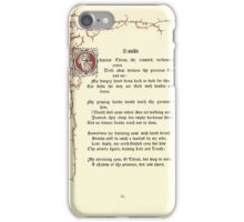 The Old Garden and Other Verses by Margaret Deland and Wade Campbell, Illustrated by Walter Crane 1894 196 - Doubt iPhone Case/Skin