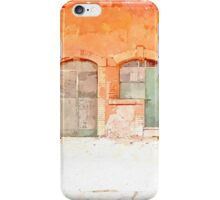 Farm doors and windows of stable iPhone Case/Skin