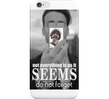 DO NOT FORGET -  :') iPhone Case/Skin