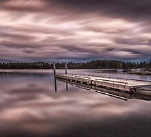 Comox lake Vancouver island by leightoncollins